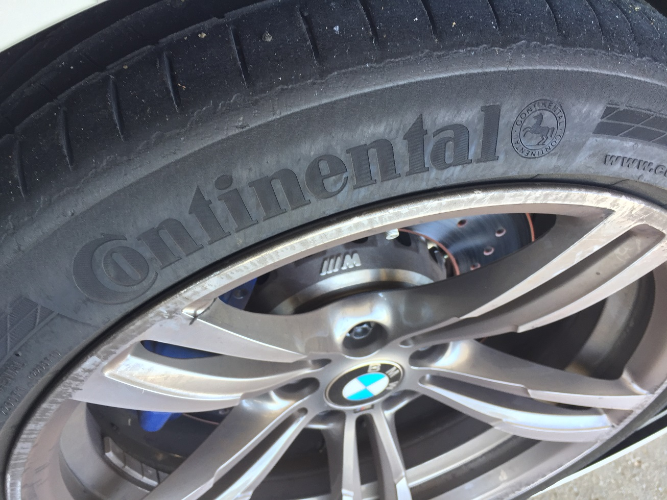 after making some tire pressure adjustments to the oem supplied continental contisport contact tires in the front and in the rear
